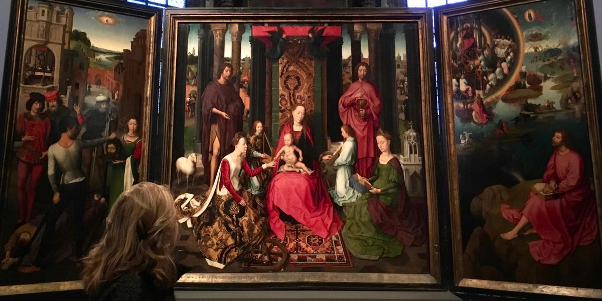 Johannesretabel, Hans Memling, 1479, Sint-Janshospitaal, Brugge