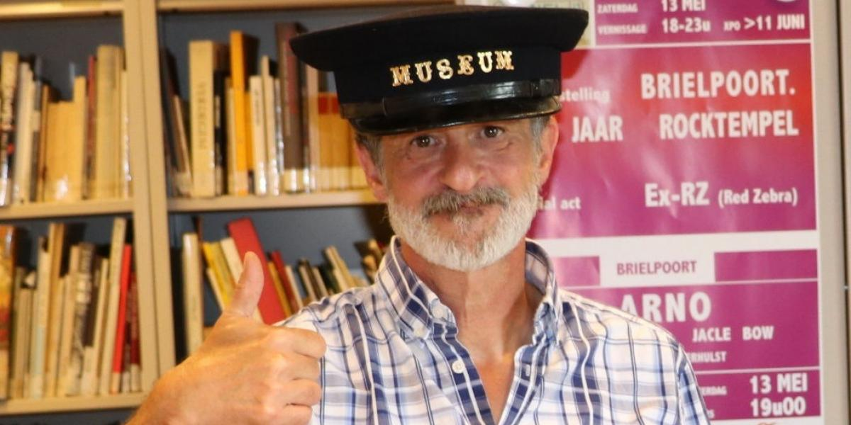 Dirk Haesaert, bénévole au mudel