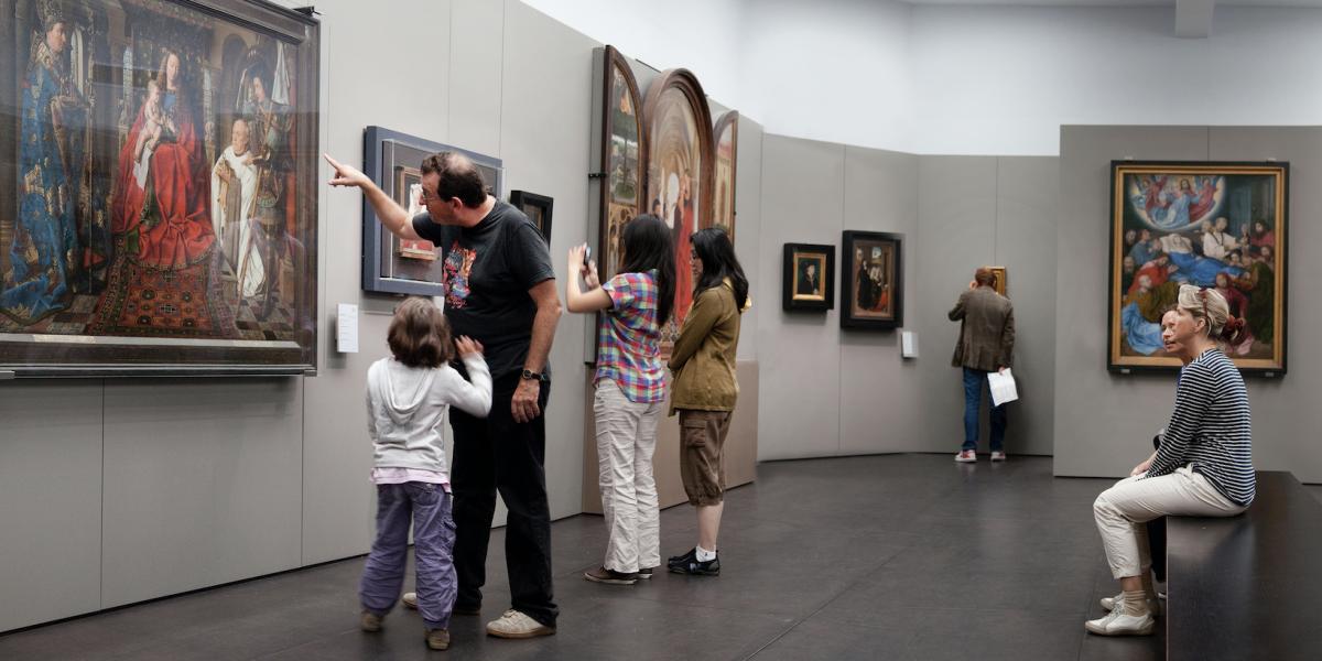 Saskia Desmidt – Musée Groeninge (détail).