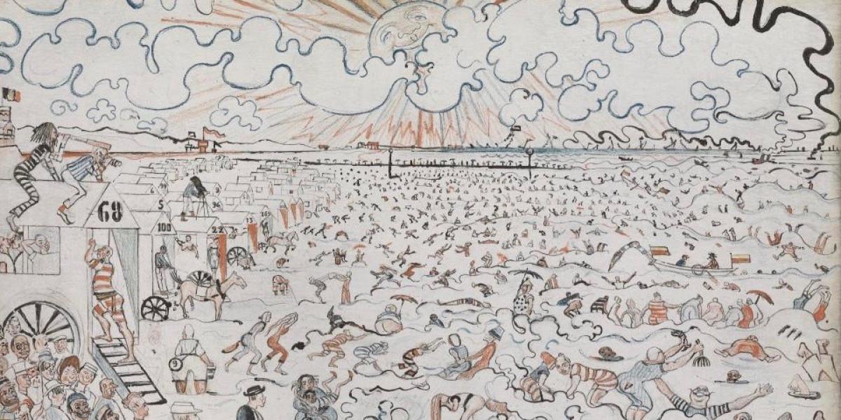 Les bains à Ostende