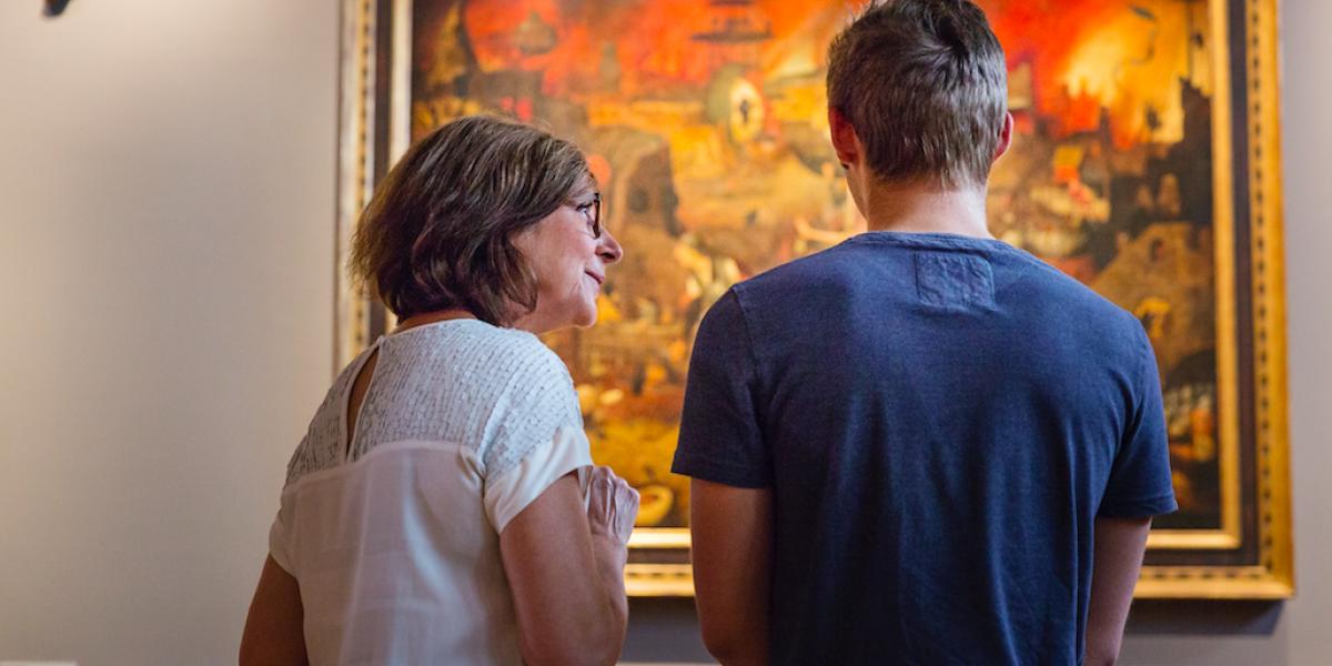 Ans Brys – Zaalzicht Dulle Griet – Museum Mayer van den Bergh