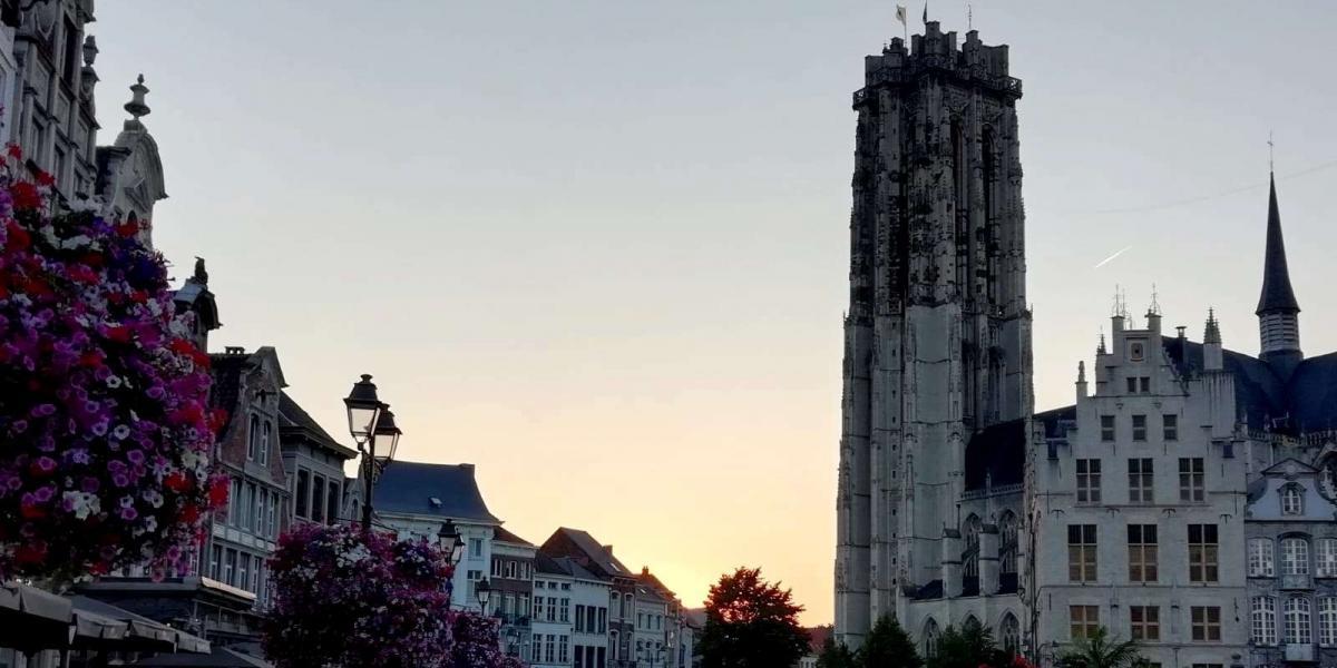 Grote Markt van Mechelen.