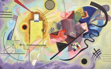 Wassily Kandinsky, Composition abstraite, 1921-1927, lithographie, Maeght éditeur © Photo : JC Hubert