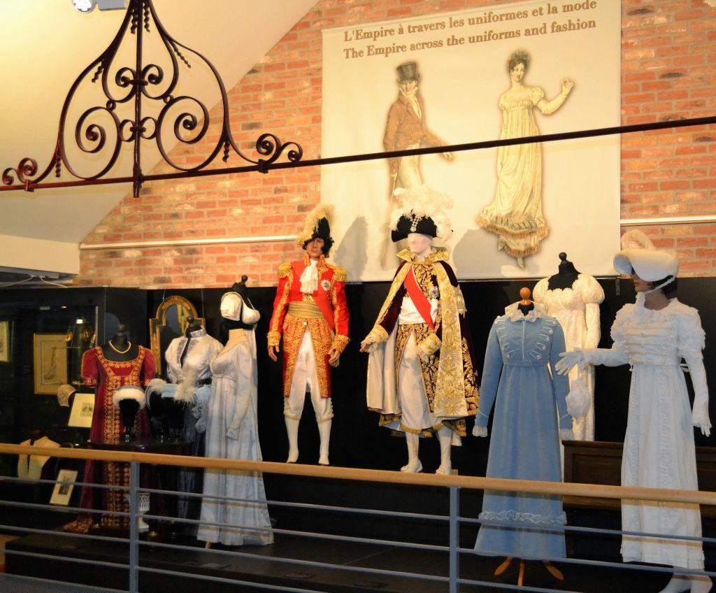 Musée Wellington – costumes d'époque.