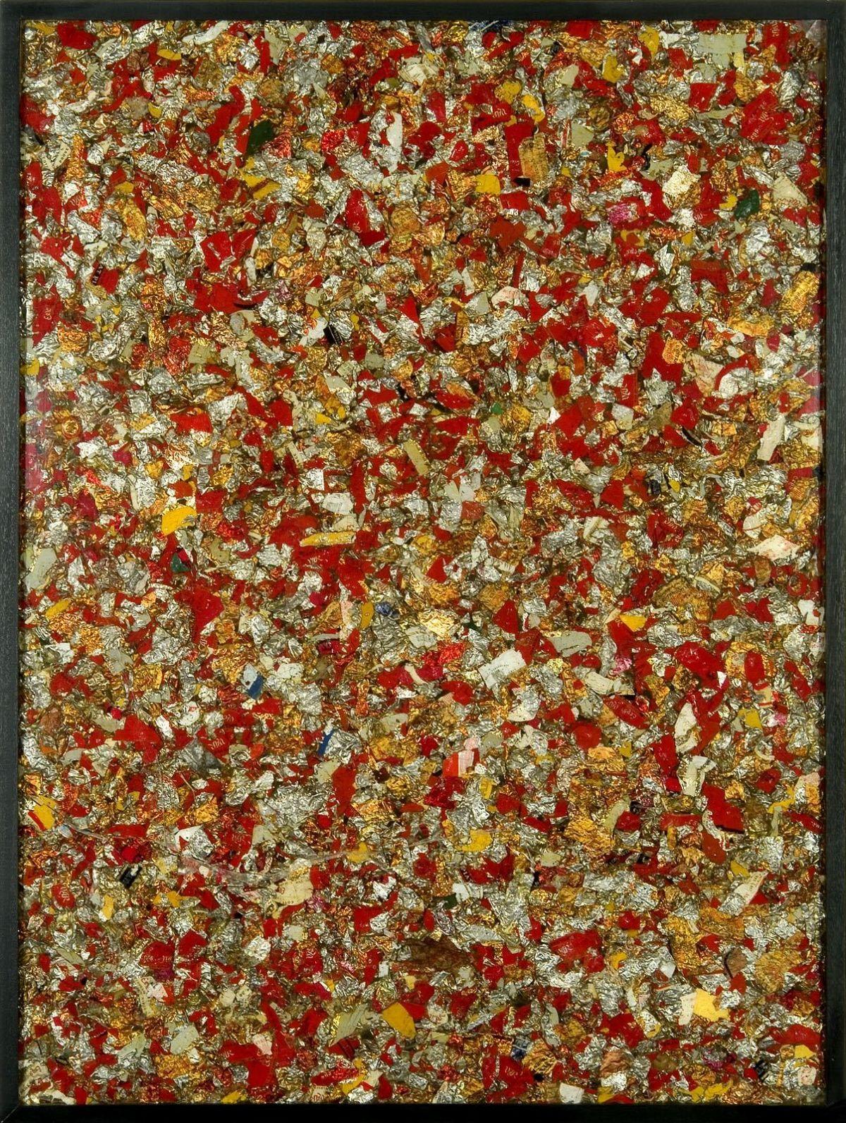 Arman, Quand le vin est tiré, 1963 Collectie S.M.A.K., Stedelijk Museum voor Actuele Kunst, Gent Photo: Dirk Pauwels