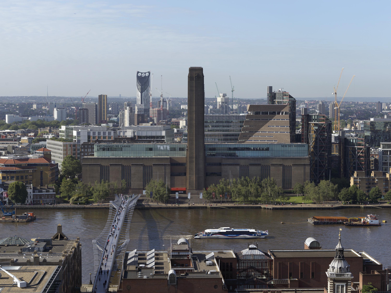 Extérieur de Tate Modern depuis St Paul's – Crédit photo : Tate Photography.