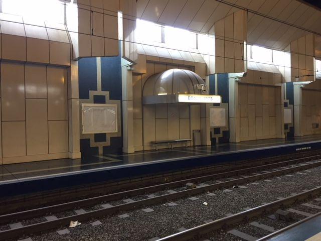 museumPASSmusées - metro van Charleroi