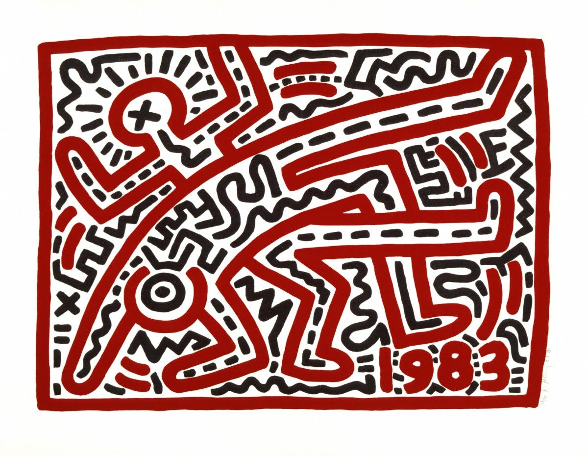 Keith Haring, Untitled, 1983 © Keith Haring Foundation